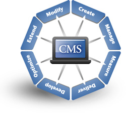 Website Content Management System Development