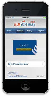 MLM Mobile Application by MLM Software India